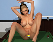 Game With Pool Balls